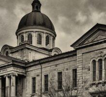 Frontenac County Court House - textured Sticker