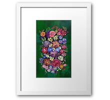 Friends of nature Framed Print