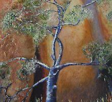 Tree at Uluru by Janet Duff