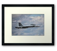 Fighter Jet Framed Print
