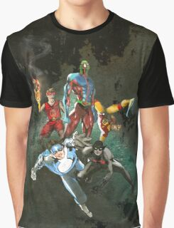 The Heroes Within BLACK Graphic T-Shirt