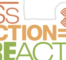 Less traction = More action (7) Sticker