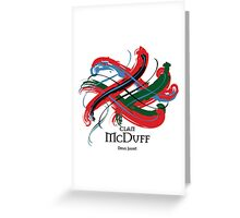 Clan McDuff Greeting Card