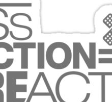 Less traction = More action (6) Sticker