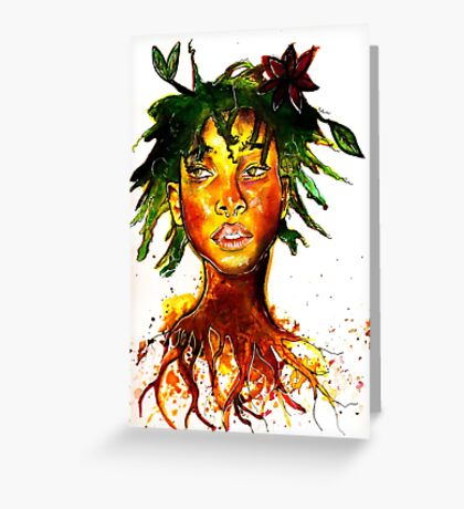Willow Smith Greeting Card
