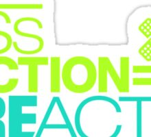 Less traction = More action (3) Sticker