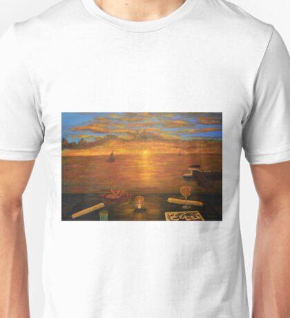 Florida Key's Sunset Dinner Unisex T-Shirt