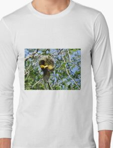 Asian Golden Weaver Long Sleeve T-Shirt