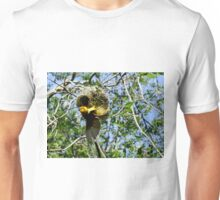 Asian Golden Weaver Unisex T-Shirt