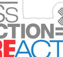 Less traction = More action (2) Sticker