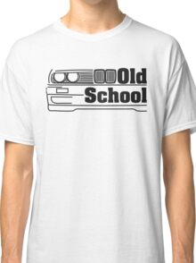 E30 Old School - Black Classic T-Shirt