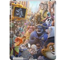 Movie Poster (Zootopia) iPad Case/Skin