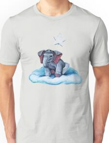 Royal Blue Elephant Unisex T-Shirt