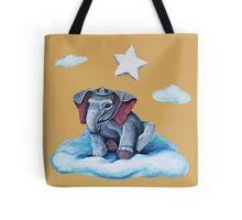 Royal Blue Elephant Tote Bag