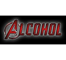 Avengers - Alcohol Photographic Print