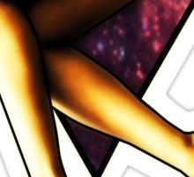 Legs Triangle Sticker