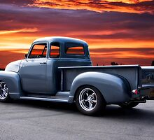 1953 Chevrolet 3100 Custom Pickup 3Q Rear by DaveKoontz