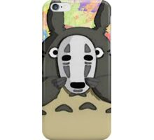 Totoro Open The Mask iPhone Case/Skin