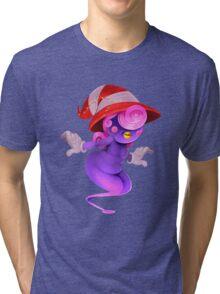 Spooky Shadow Gal Tri-blend T-Shirt