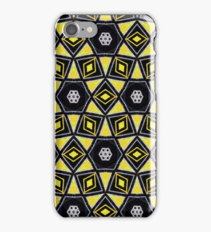 Grungy Africa Geometry iPhone Case/Skin