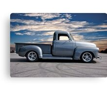 1953 Chevrolet 3100 Custom Pickup 'At Dawn' Canvas Print
