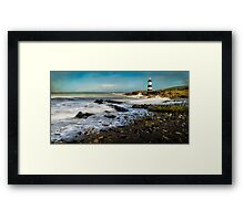 Penmon Point Lighthouse Framed Print