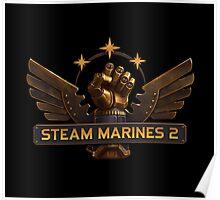 Steam Marines 2 - Logo Poster