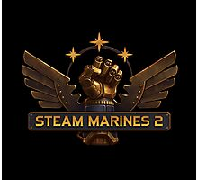 Steam Marines 2 - Logo Photographic Print
