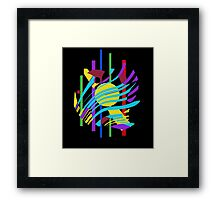 Colorful abstraction Framed Print
