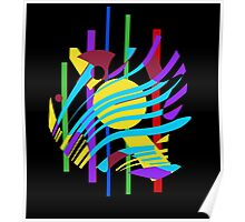 Colorful abstraction Poster