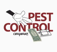 Pest Control: Corporat. One Piece - Short Sleeve