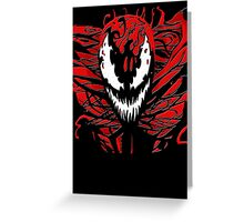 Carnage Prime Greeting Card