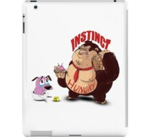 Greedy Gorilla And The Cry Baby Courage Dog iPad Case/Skin
