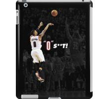 "Damian Lillard - ""0"" S**T! iPad Case/Skin"