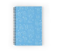 silly Organization13 members Spiral Notebook