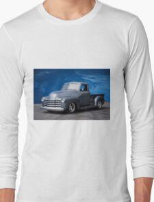 1953 Chevrolet 3100 Custom Pickup 'Dark Sky' Long Sleeve T-Shirt