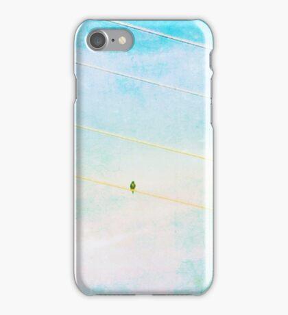 Bird on a Wire II iPhone Case/Skin