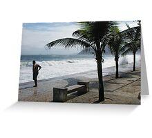 Ipanema Beach Greeting Card