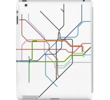Minimal Tube Map iPad Case/Skin