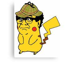 Pokemon: Danny Devito Detective Pikachu Canvas Print
