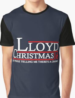 LLOYD CHRISTMAS 2016 DUMB AND DUMBER Graphic T-Shirt