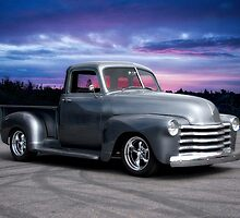 1953 Chevrolet 3100 Custom Pickup 'Sunrise' by DaveKoontz