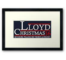 LLOYD CHRISTMAS 2016 DUMB AND DUMBER Framed Print