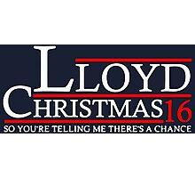 LLOYD CHRISTMAS 2016 DUMB AND DUMBER Photographic Print