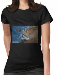 San Francisco Shoreline Womens Fitted T-Shirt