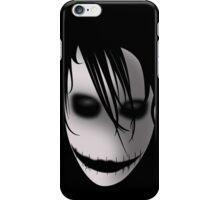 Scary Blurry Face iPhone Case/Skin