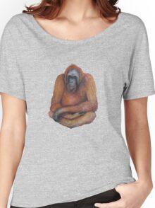Wild Orangutan Drawing Women's Relaxed Fit T-Shirt