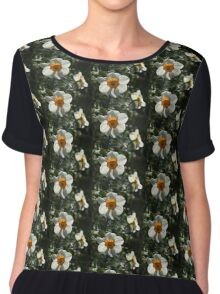 Spring Sunshine and Blooms Chiffon Top
