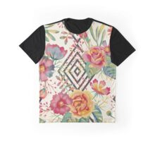 Watercolor floral romantic Graphic T-Shirt