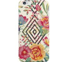 Watercolor floral romantic iPhone Case/Skin